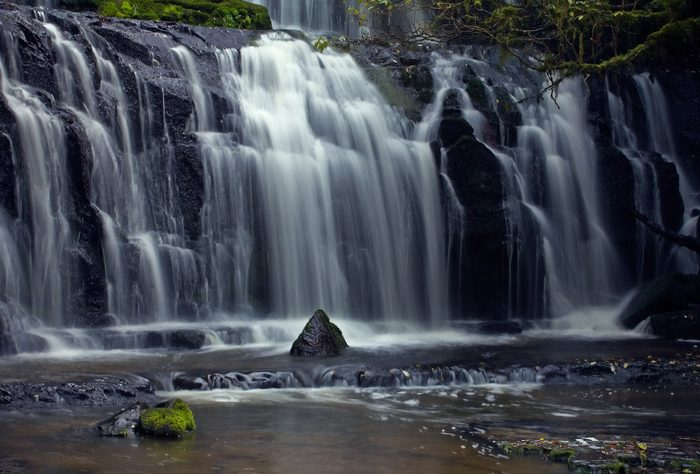 Purakaunui Waterfall
