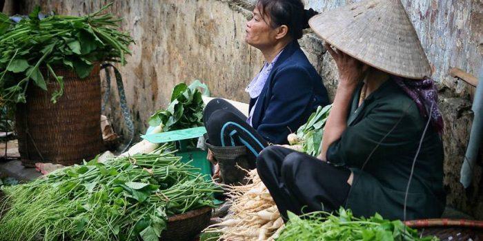 Hanoi Market Sellers, Vietnam