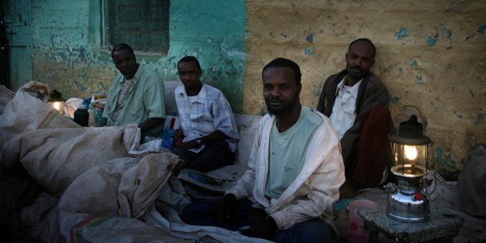 Men With Lamps, Jijiga, Ethiopia
